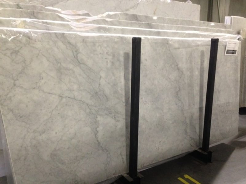 Bianco carrara pol honed