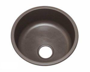 Granite Kitchen Sink KI1 - Radius: L 17 in. x D 7 in.
