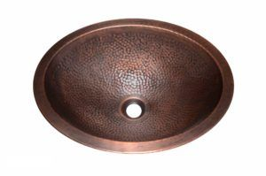 Copper Sink - Dimensions: L 17-3/4 in. x W 13-3/4 in. x D 6 in.