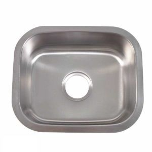 Stainless Steel Kitchen Sink 107 - Dimensions: L 15 in. x W 18-5/8 in. x D 7 in.