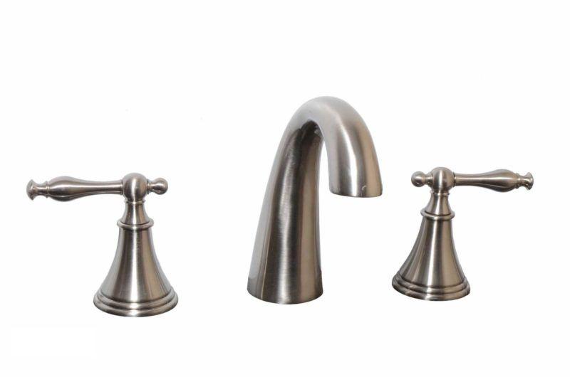 Bathroom Vanity Faucet 11585_Brushed Nickel - Dimensions: H 6 in.