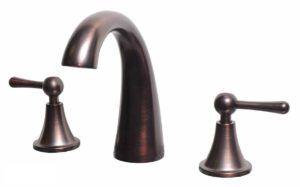 Bathroom Vanity Faucet 11585M_RB - Dimensions: H 6 in.