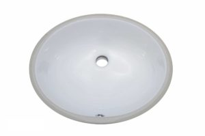 Ceramic Bathroom Sink 1602 -Dimensions: L 18 in. x W 15 in. x D 7-1/2 in.