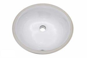 Ceramic Bathroom Sink 1636 - Dimensions: L 16 in. x W 13 in. x D 7-1/2 in.