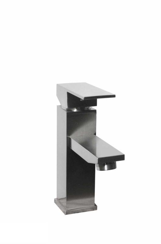Bathroom Vessel Faucet 2010093_Brushed Nickel - Dimensions: H 8 in.