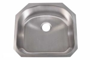 Stainless Steel Kitchen Sink 307 - Dimensions: L 23-1/4 in. x W 21 in. x D 9 in.