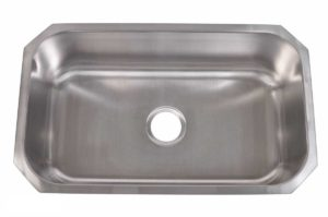 Stainless Steel Kitchen Sink 319 - Dimensions: L 30 in. x W 18 in. x D 9 or 10 in.
