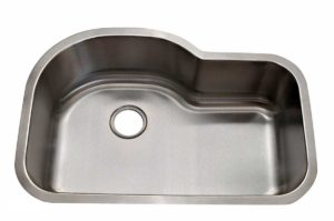 Stainless Steel Kitchen Sink 339 - Dimensions: L 31-1/2 in. x W 31-1/2 in. x D 9 in.