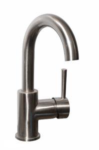 Bathroom Vessel Faucet 41023_Brushed Nickel - Dimensions: H 10-1/2 in.
