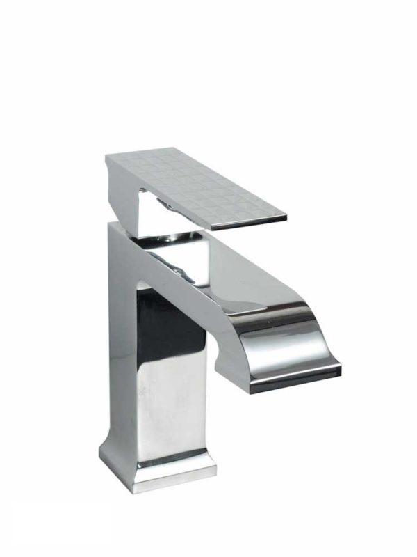 Contemporary Bathroom Vessel Faucet 411CHVN - Dimensions: H 6-1/2 in. x W 6-3/4 in.