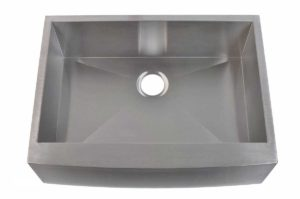 Stainless Steel Kitchen Sink EFS3320 - Dimensions: L 33 in. x W 20 in. x D 10 in.