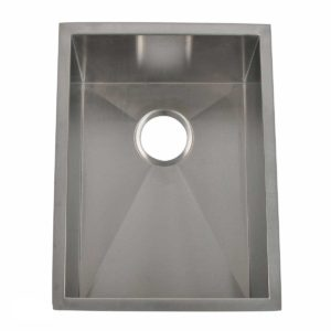 Stainless Steel Kitchen Sink HBB1520 - Dimensions: L 15 in. x W 20 in. x D 10 in.