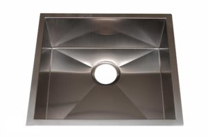 Stainless Steel Kitchen Sink HBB1820 - Dimensions: L 18 in. x W 20 in. x D 9 in.