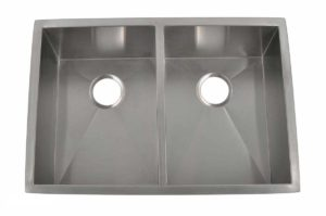 Stainless Steel Kitchen Sink HBE3320 - Dimensions: L 33 in. x W 20 in. x D 10 in.