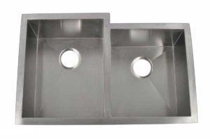 Stainless Steel Kitchen Sink HBO2920 - Left basin dimensions: L 29 in. x W 20 in. x D 10 in.