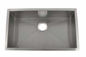 Stainless Steel Kitchen Sink HBS3219 - Dimensions: L 32 in. x W 19 in. x D 10 in.