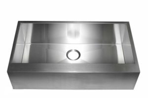 Stainless Steel Kitchen Sink HFS3620 - Dimensions: L 35-7/8 in. x W 20 in. x D 10 in.