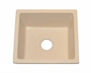 Granite Kitchen Sink KI2 - Dimensions: L 18 in. x W 16 in. x D 8-1/2 in.