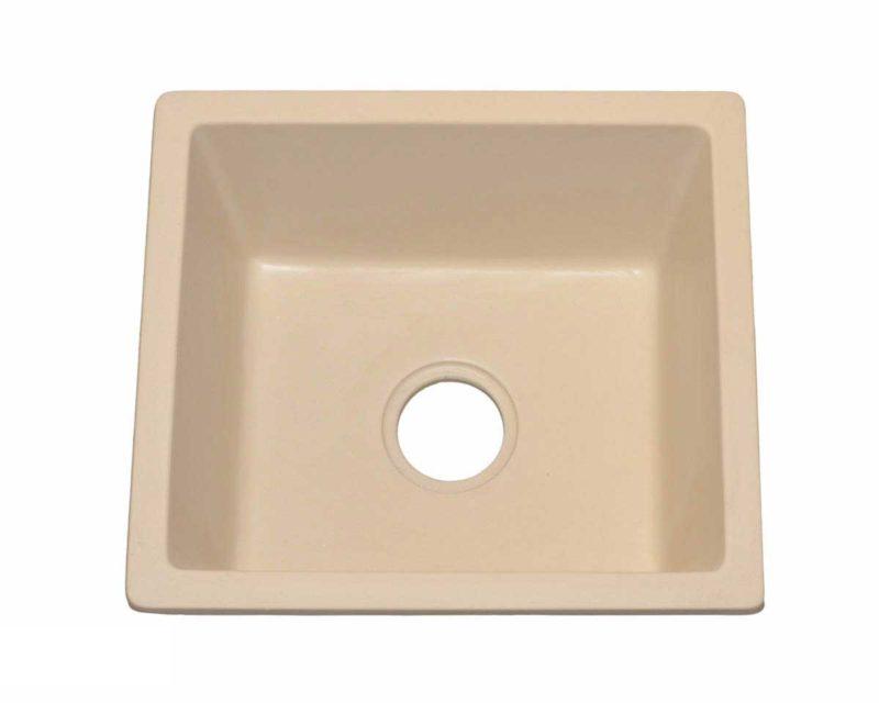 Granite Kitchen Sink KI2 - Dimensions: L 18 in. x W 16 in. x D 8-1/2 in.