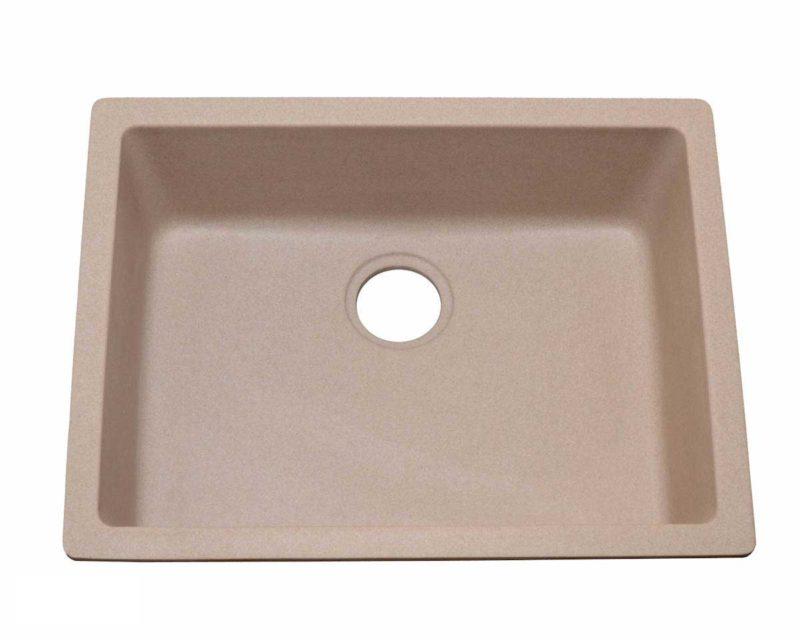 Granite Kitchen Sink KI3 - Dimensions: L 24 in. x W 18 in. x D 8 in.