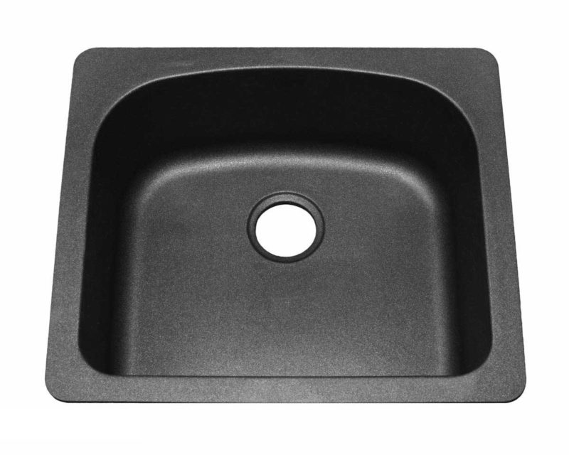 Granite Kitchen Sink KI4 - Dimensions: L 23 in. x W 20 in. x D 8-1/2 in.