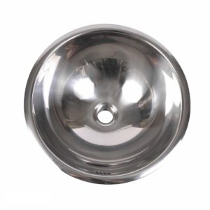 Stainless Steel Kitchen Sink R415 - Dimensions: Radius 16-3/4 in. x D 7-5/8 in.