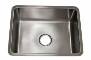 Stainless Steel Kitchen Sink RS2318 - Dimensions: L 23 in. x W 18 in. x D 9 in.