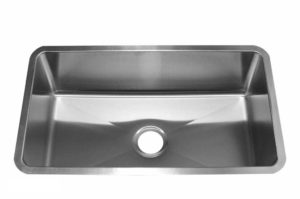 Stainless Steel Kitchen Sink RS3018 - Dimensions: L 30 in. x W 18 in. x D 9 in.