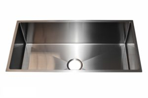 Stainless Steel Kitchen Sink SB1294 Gun Metal Color - Dimensions: L 33-1/2 in. x W 17-1/2 in. x D 10 in.