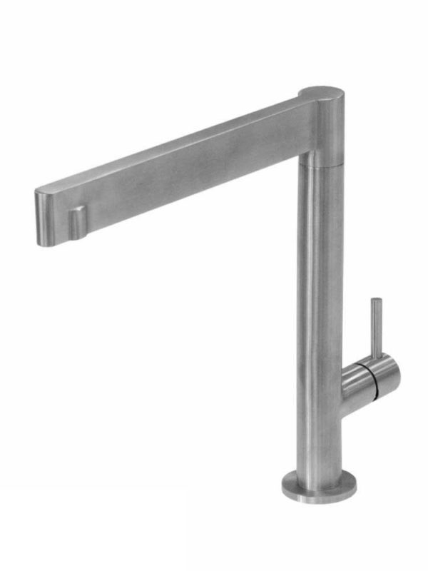 Contemporary Kitchen Faucet T12083_Brushed Nickel - Dimensions: H 10 5/8 X 9 5/8 in.